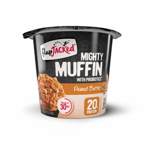 FlapJacked Peanut Butter Mighty Muffin Perspective: front