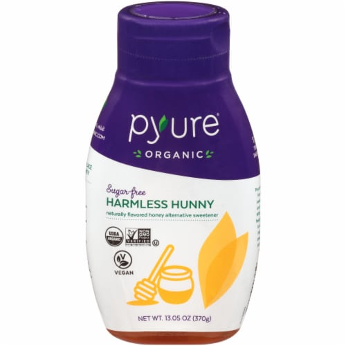 Pyure Organic Sugar Free Honey Alternative Perspective: front