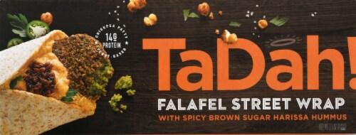 TaDah! Falafel Street Wrap with Harissa Hummus Perspective: front