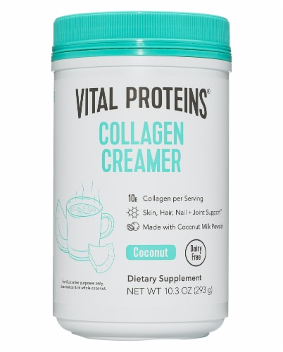 Vital Proteins Collagen Coconut Creamer Perspective: front