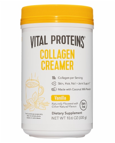Vital Proteins Vanilla Collagen Creamer Perspective: front