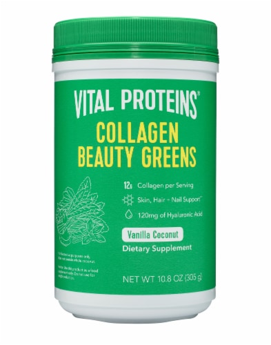 Vital Proteins Collagen Beauty Greens (Bovine) Dietary Supplement Perspective: front
