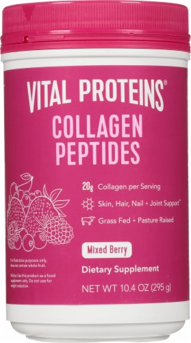Vital Proteins  Collagen Peptides   Mixed Berry Perspective: front