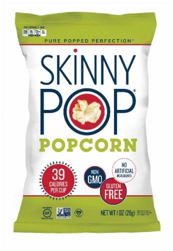 SkinnyPop Gluten Free Single Serve Popcorn Perspective: front