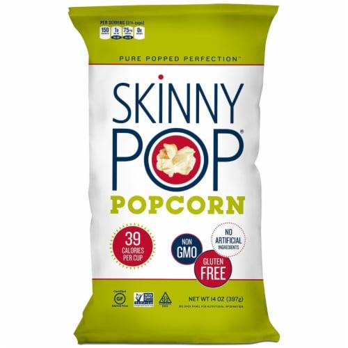 Original Skinny Pop, All Natural Popcorn Gluten FREE - NON GMO 14 Ounce Perspective: front