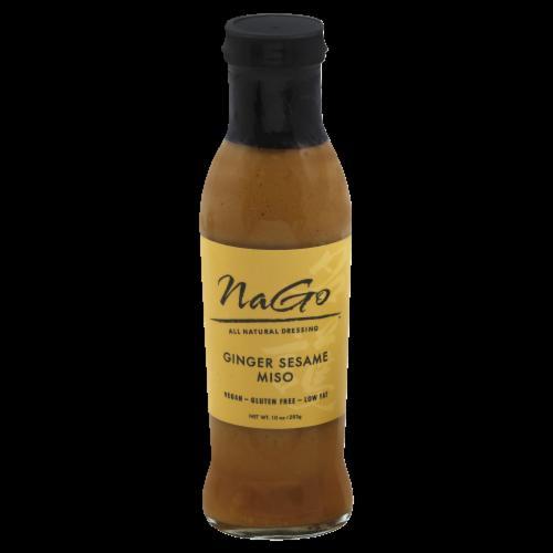 Nago Foods Ginger Sesame Miso Dressing Perspective: front