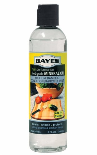 Bayes  Mineral Oil  8 oz. Liquid - Case Of: 6; Perspective: front