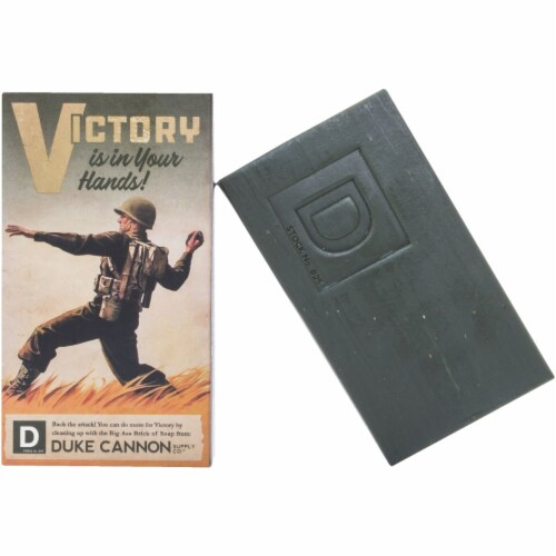 Duke Cannon 10 Oz. Victory Big Ass Brick of Soap 03GREEN1 Perspective: front