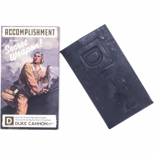 Duke Cannon 10 Oz. Bergamot & Black Pepper Big Ass Brick of Soap 03BLACK1 Perspective: front