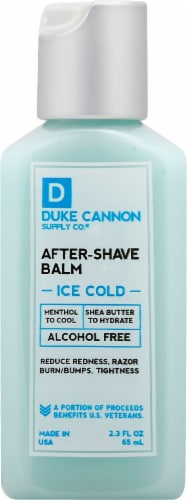Duke Cannon Ice Cold After Shave Balm Perspective: front
