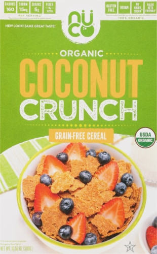 NUCO Coconut Crunch Grain-Free Cereal Perspective: front
