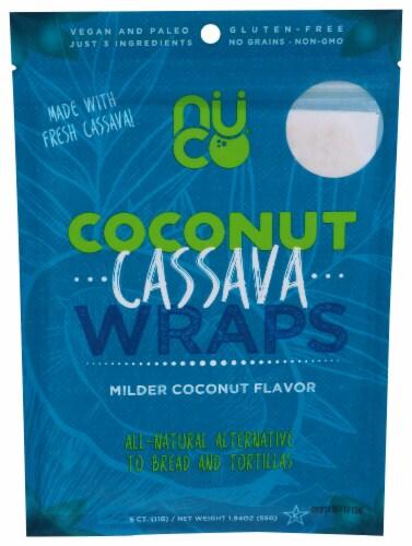 NUCO Coconut Cassava Wraps Perspective: front