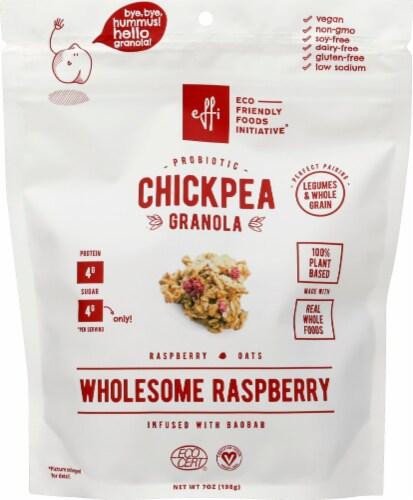 EFFi Foods Probiotic Chickpea Granola Clusters - Pecan & Pumpkin Perspective: front