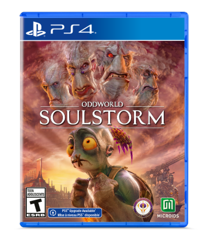 Oddworld: Soulstorm (PlayStation 4®) Perspective: front