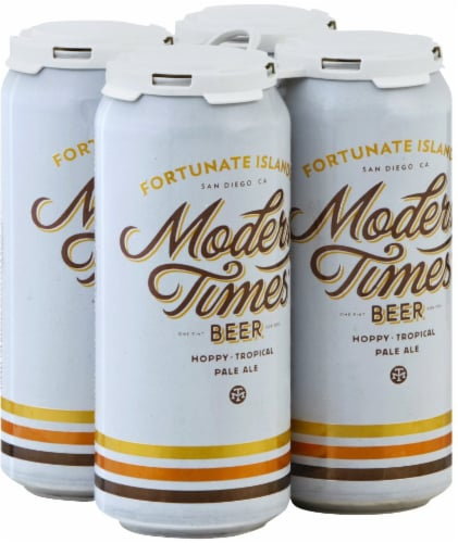 Modern Times Fortunate Islands Pale Ale Perspective: front