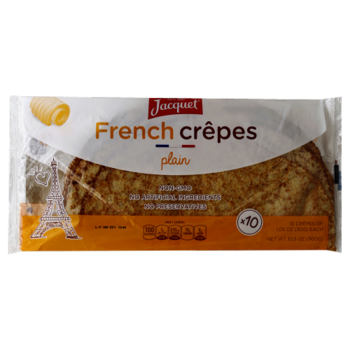 Jacquet Plain French Crepes Perspective: front