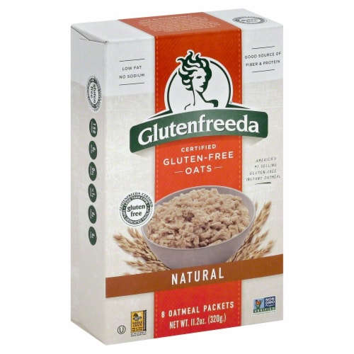 Glutenfreeda Instant Oatmeal Perspective: front
