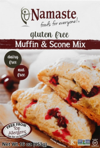 Namaste Foods Gluten Free Muffin Mix Perspective: front