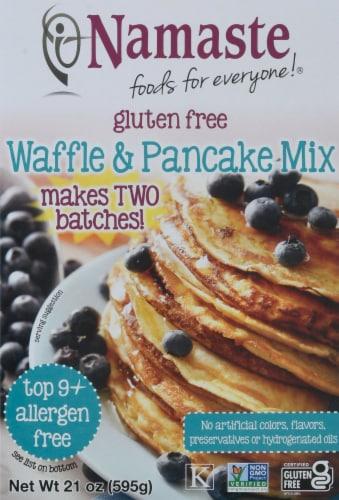Namaste Gluten Free Waffle & Pancake Mix Perspective: front