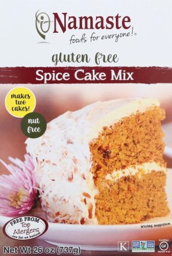 Namaste Gluten Free Spice Cake Mix Perspective: front