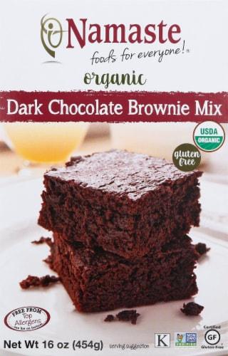 Namaste Foods Organic Gluten Free Dark Chocolate Brownie Mix Perspective: front