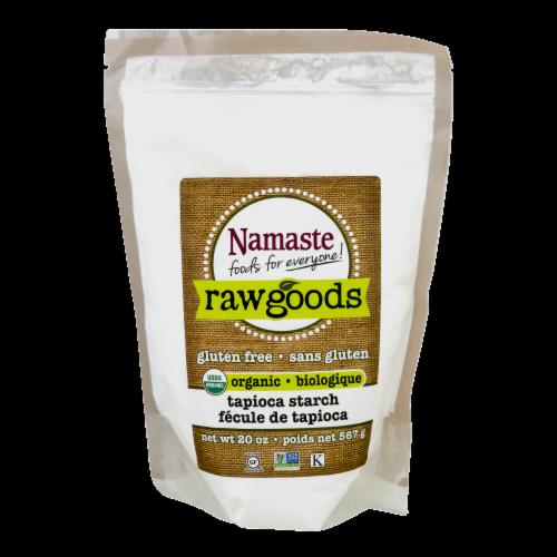 Namaste Raw Goods Gluten Free Organic Tapioca Starch Perspective: front