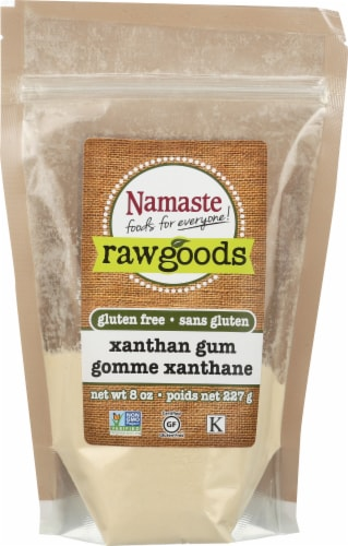 Namaste Raw Goods Gluten Free Xanthan Gum Perspective: front