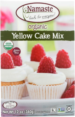 Namaste Foods Organic Yellow Cake Mix Perspective: front