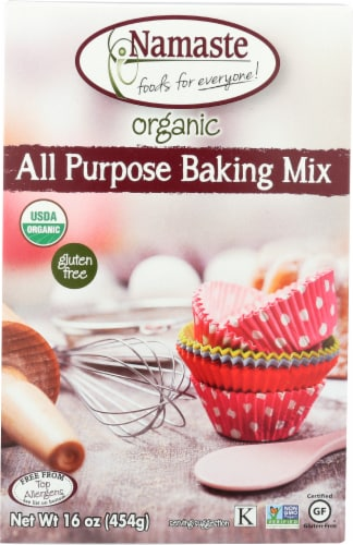 Namaste Foods Organic Gluten Free All Purpose Baking Mix Perspective: front