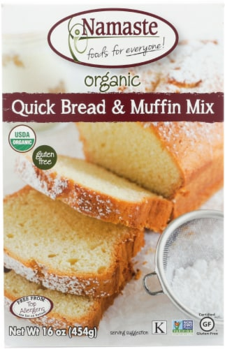 Namaste Foods Organic Gluten Free Quick Bread & Muffin Mix Perspective: front