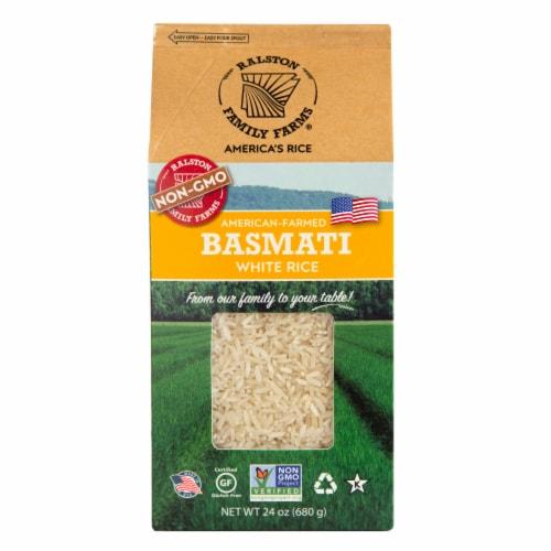 Ralston Family Farms - Basmati White Rice Perspective: front