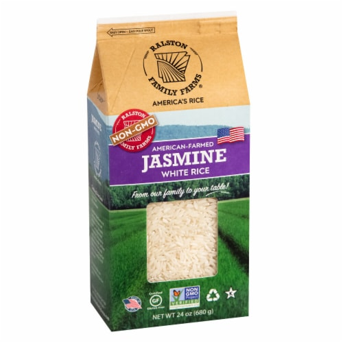 Ralston Family Farms - Jasmine White Rice Perspective: front