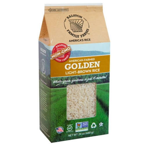 Ralston Family Farms Golden Light-Brown Rice Perspective: front