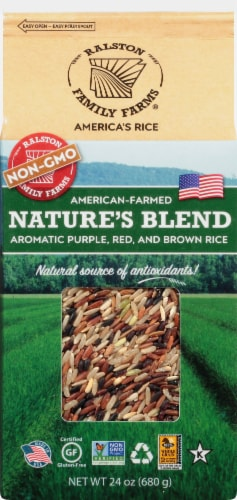 Ralston Family Farms Nature's Blend Rice Perspective: front