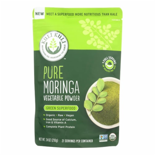 Kuli Kuli Pure Moringa Vegetable Powder Perspective: front