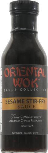Oriental Wok Sesame Sauce Perspective: front