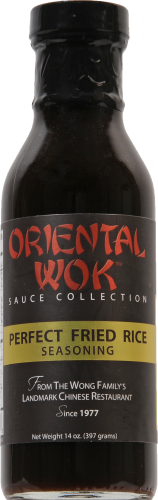 Oriental Wok Fried Rice Sauce Perspective: front