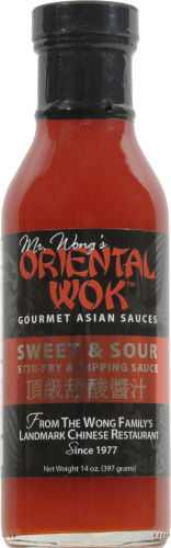 Oriental Wok Sweet and Sour Sauce Perspective: front