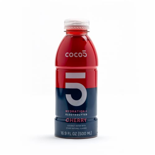 Coco5 Cherry Crush Coconut Water Perspective: front