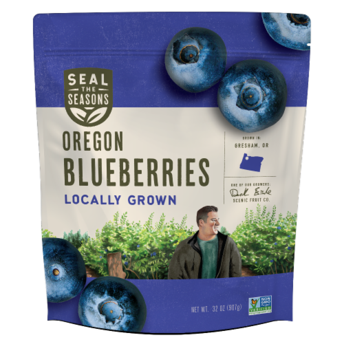 Seal the Seasons Oregon Blueberries Perspective: front