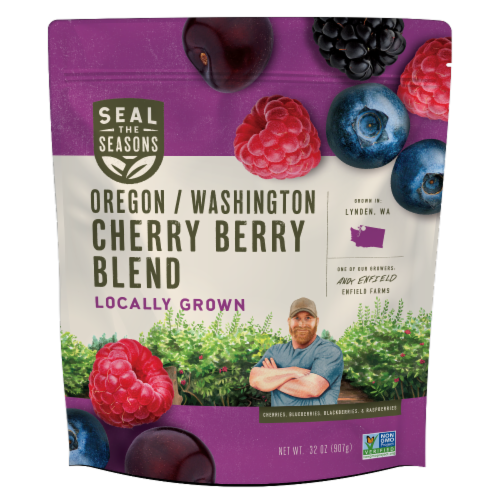 Seal the Seasons Oregon/Washington Cherry Berry Blend Perspective: front