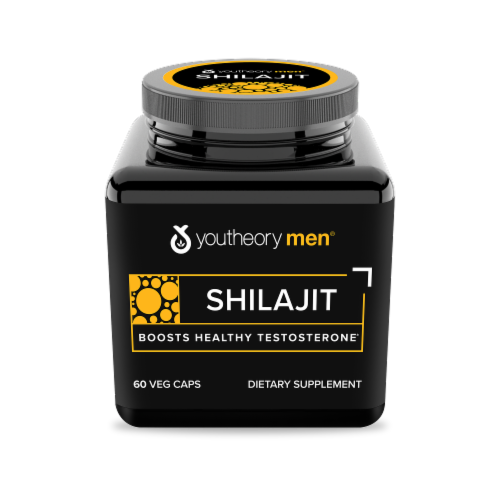 Youtheory  Mens Shilajit Perspective: front