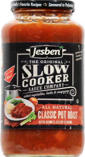Jesben Slow Cooker Sauce Classic Pot Roast Perspective: front