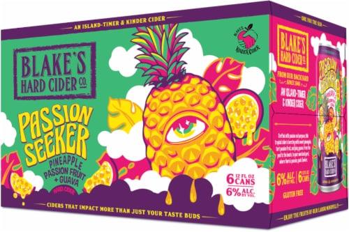 Blake's Fido Hopped Raspberry & Grapefruit Hard Cider Perspective: front