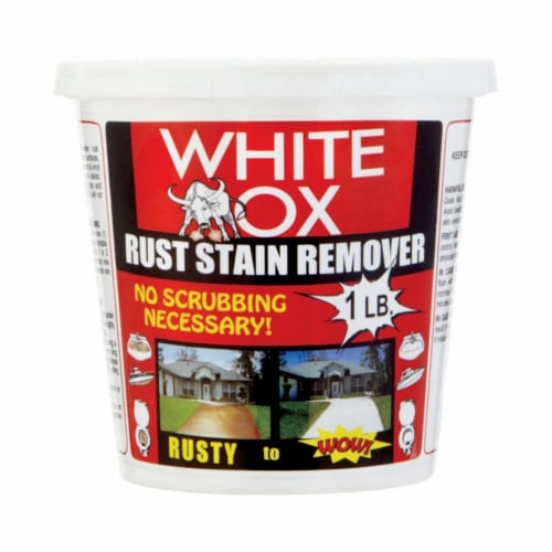 White-OX 1483205 1 lbs Rust Remover Crystals Perspective: front