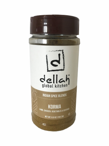 Dellah Korma Spice Perspective: front
