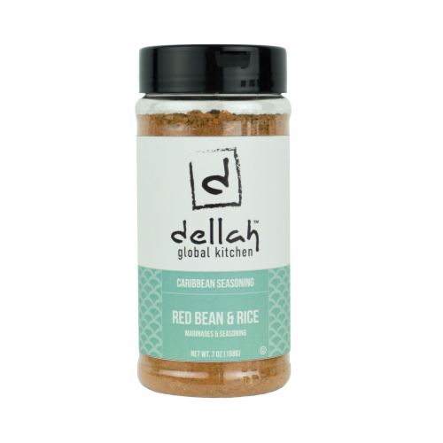 Dellah Kitchen Red Bean & Rice Seasoning Perspective: front