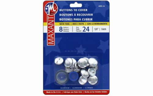 Maxant Cover Button Kit Size 24 8pc Perspective: front
