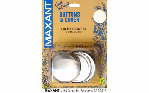 Maxant Cover Button Kit Size 75 Perspective: front