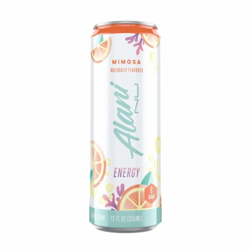Alani NU Mimosa Energy Drink Perspective: front